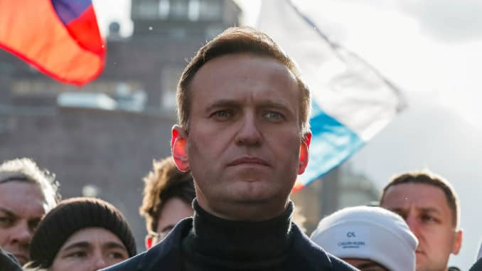Mass protests sweep Russia following the detainment of prominent opposition leader