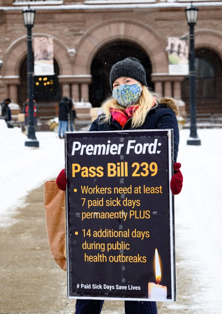 Government of Ontario approves controversial 3-day sick leave program to curb spread of COVID-19