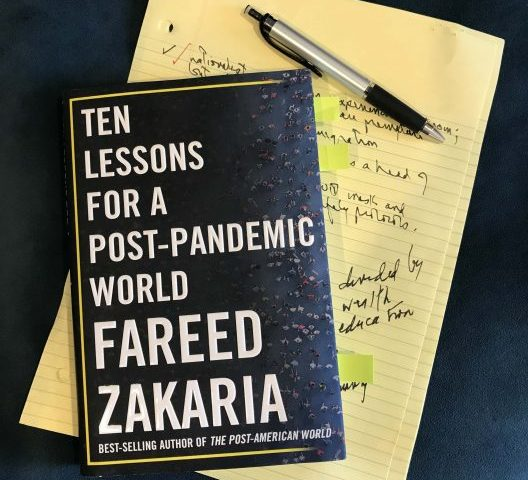 Book Review: Ten Lessons for a Post-Pandemic World by Fareed Zakaria